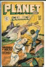 Planet #60-1949-Fiction House-Good Girl Sci-fi Art-Mysta Of The Moon-Eva... - $173.82