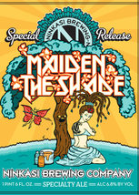 BEER Ad    Maiden The Shade    2.5 x 3.5  Fridge Magnet - $3.99