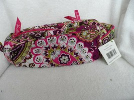 Vera Bradley Retired Travel Toiletry Trip Kit in Very Berry Paisley - $25.00
