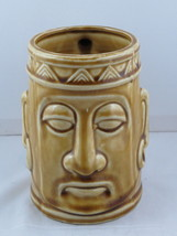 Vintage Tiki Mug - Tribal King Head - Made in Japan - Ceramic Mug - $35.00