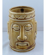 Vintage Tiki Mug - Tribal King Head - Made in Japan - Ceramic Mug - $35.00