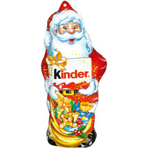 Kinder Chocolate SANTA CLAUS hollow 55g -Made in Germany FREE SHIPPING - $9.89