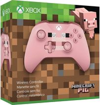 New Microsoft Xbox One Wireless Controller Pink Minecraft Pig X1 Xbox One S - $79.99