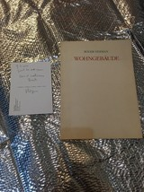 wohngebäude Book + Postcard Signed By roger herman  Limited Edition 156/500 - $433.62