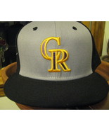 VTG Baseball Cap Nike True Snapback Colorado Rockies Hat Wool head wear - $29.65