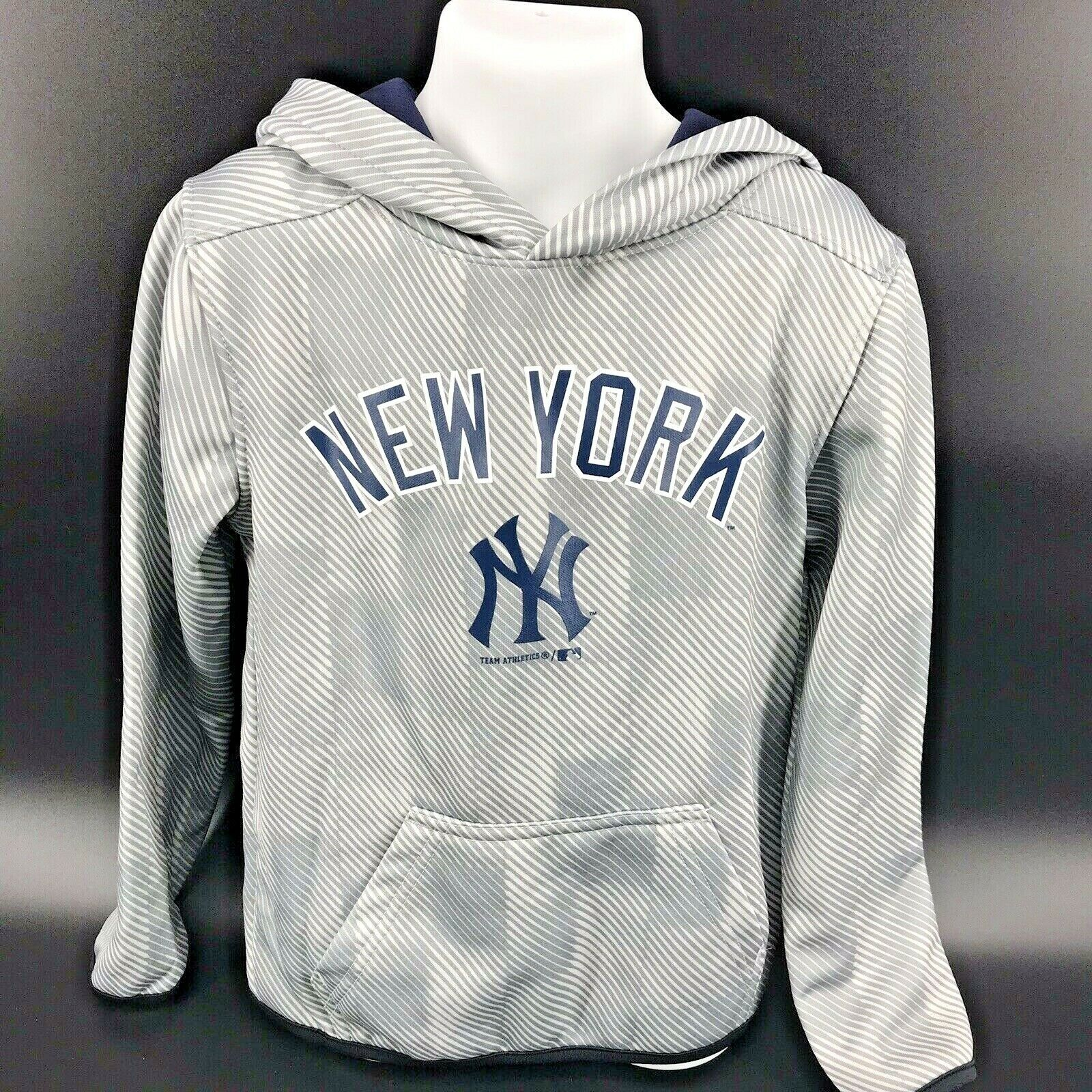 Primary image for MLB New York Yankees Hooded Sweatshirt Youth Size XS (4/5) NEW With Tags -h
