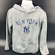 MLB New York Yankees Hooded Sweatshirt Youth Size XS (4/5) NEW With Tags -h - $34.85