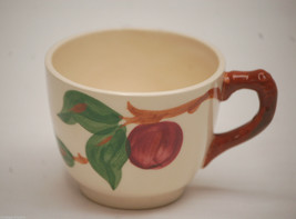 "Old Vintage Apple by Franciscan 2-3/4"" Flat Cup American Backstamp ~ Red Apples - $8.90"