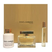 Dolce & Gabbana The One 2.5 Oz EDP Spray + 3.3 Oz Lotion + 0.25 Oz EDP Roll On image 3