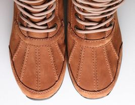 UGG Womens Chestnut Brown Leather Adirondack III Winter Snow Boots 1017430 NIB image 5