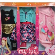 """New JOJO SIWA MY LIFE AS ~ Day in the Life 3 Pc. CLOTHING SET For 18"""" Jo... - $37.21"""