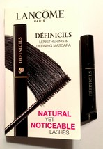 LANCÔME DEFINICILS BLACK MASCARA Sample Sz/Travel Sz Mini NEW! FAST SHIP! - $7.91