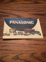 Panasonic - The Complete Line Catalog; Vintage 1960's & And Hard To Find! - $17.81