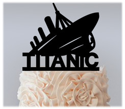Decorations Wedding,Birthday Cake topper,Cupcake topper,TITANIC Package ... - $20.00