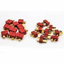 Allytech 10Pairs Deans Style Anti-skid Connector T Plug Female to Male M... - $13.13