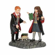 Wingardium Leviosa Ron and Hermione 3 inch Resin Stone Collectible Figurine - $29.99