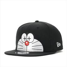 New Era Doraemon collaboration cap Snapback 9FIFTY BIG HALF FACE Black - $90.99