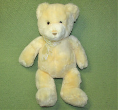 "20"" GUND TENDER TEDDY BEAR STUFFED ANIMAL IVORY PLUSH 6416 LOVEY BABY SO... - $28.05"