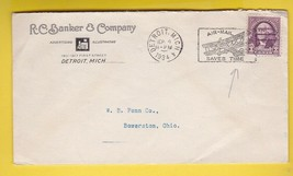 RC BANKER AND COMPANY DETROIT MICHIGAN SEPT 4 1934  - $1.98