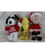 Peanuts Plush Collection with Joe Cool, Charlie Brown and Woodstock - $16.00