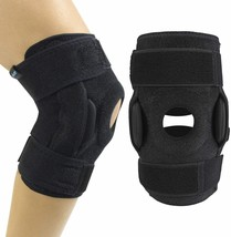 Vive Hinged Knee Brace - Open Patella Support Wrap image 1
