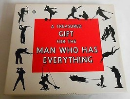 Vintage 1964 Adult Humor FOR THE MAN WHO HAS EVERTHING Gift LEISTER GAME... - $14.84