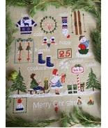 North Pole christmas cross stitch chart Lilli Violette - $15.30