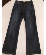 Levi's Women's Perfectly Slimming 512 Boot Cut Dark Wash Jeans Size 4 - $11.08