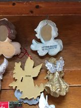 Estate Lot of Hallmark Heavenly Gilt Painted Resin Sparkly Silver Plastic White  image 11