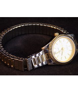 LINDENWOLD WATCH LADIES WRISTWATCH w/ band extension Silver & Gold Tone ... - $14.84