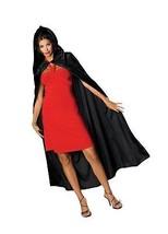 Rubie's Costume Full Length Crushed Velvet Hooded Cape As Shown One Size - $22.83