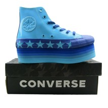 Converse Chuck Taylor Platform HI Miley Cyrus Blue 563724C Cosplay Women... - $1.886,06 MXN