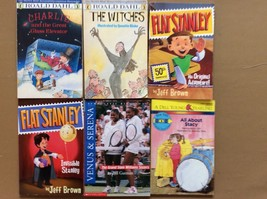 Roald Dahl, Flat Stanley, Venus and Serena and All About Stacy Books - $22.28
