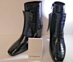 GIVENCHY PATENT LEATHER, BOTTINE 6 PARIS, BOOTS, SIZE 36.5EU, 5.5US, NIB! - $521.87