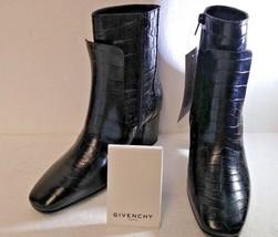 Givenchy Patent Leather, Bottine 6 Paris, Boots, Size 36.5EU, 5.5US, Nib! - $521.87