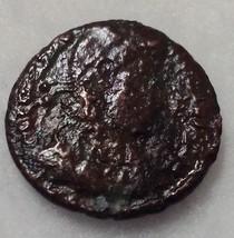 Theodosius and Valentinianus SPES REI PVBLICAE Roman coin - $18.66