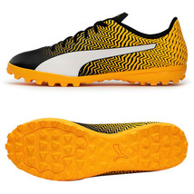 Puma Rapido II TT Football Shoes Soccer Cleats Boots Yellow 10606201 - $49.99