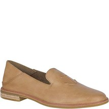 Sperry Women's Seaport Levy Anchor Loafer, tan, 10 M US - $44.62