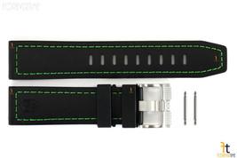 Luminox Coronado 3037 23mm Nero GOMMA Nitrilica Orologio Cinturino con / 2 Perni - $80.25