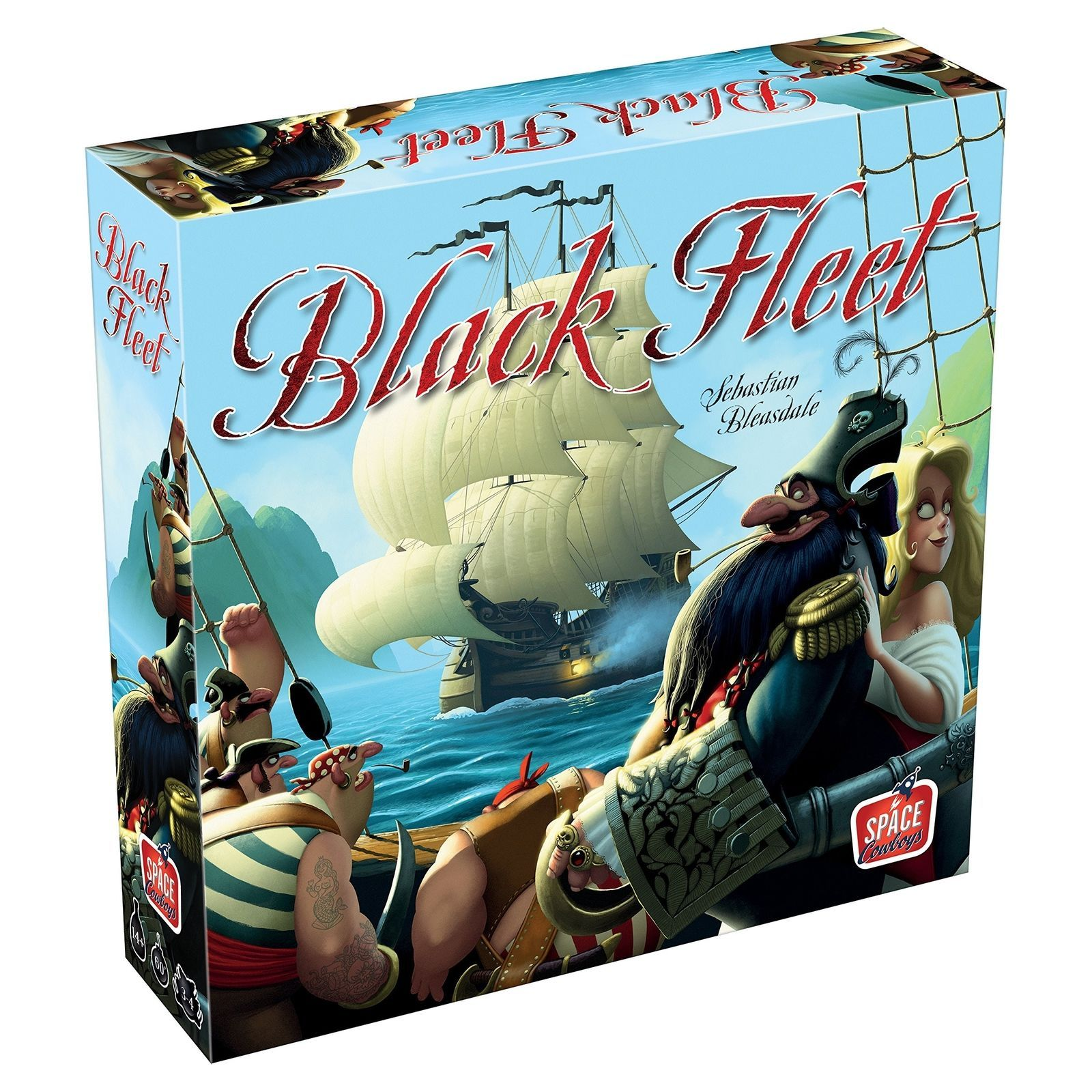 Black Fleet Board Game [New] Asmodee Games