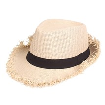 Womens Hats Fashionable Colorful Big Brim Straw Bow Hat Sun Floppy Wide ... - $9.47
