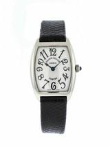 Franck Muller Cintree Curvex 1752 QZ 18K White Gold Ladies Quartz Watch - $2,999.00