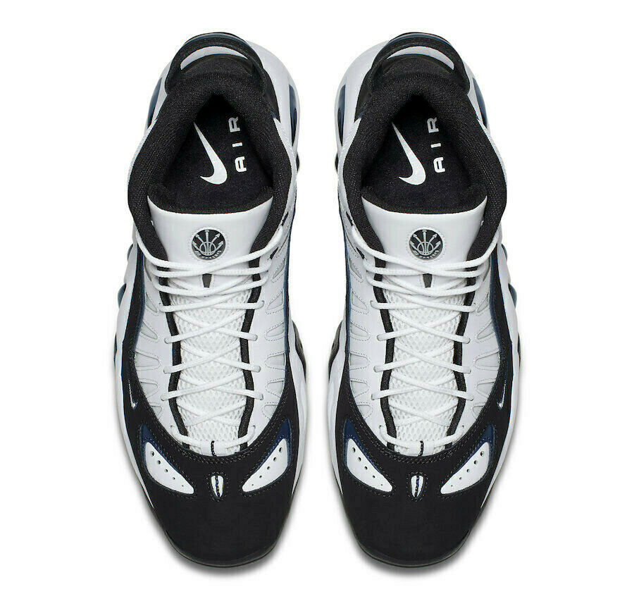 NIKE AIR MAX UPTEMPO 97 WHITE/BLACK SIZE 10.5 NEW FAST SHIPPING (399207-101) image 5