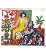 HENRI MATISSE 1942 GRAVURE PRINT w/COA. gorgeous engraving from CLASSIC ... - $195.00