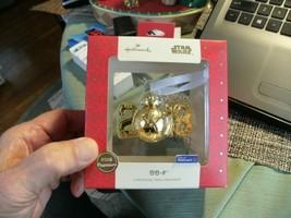 22# New 2018 Star Wars BB-8 Metal Christmas Holiday Ornament Decoration ... - $9.89