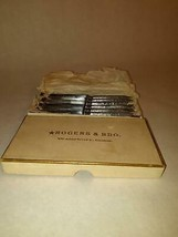 Vintage Silver Plated Rogers & Bro. Small Knife Set of 6 Boxed - $49.49
