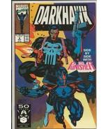 Darkhawk #9 ORIGINAL Vintage 1991 Marvel Comics Punisher - $9.89