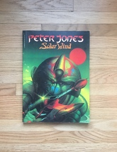 Peter Jones - Solar Wind - science fiction and fantasy art book 1980
