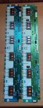 Toshiba 46RF350U Master & Slave Inverter Boards - $64.35