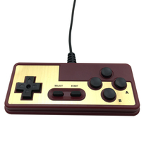 Japanese 8-bit Console Style 15Pin Plug Cable Controller For NES FC - $6.99
